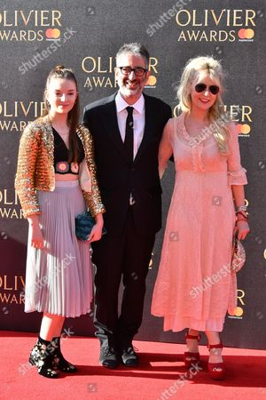 Stock Photo of Dolly Loveday, David Baddiel, Morwenna Banks