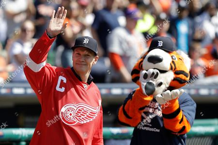 Editorial photo of Boston Red Sox v Detroit Tigers, MLB baseball game, Detroit, USA - 09 Apr 2017