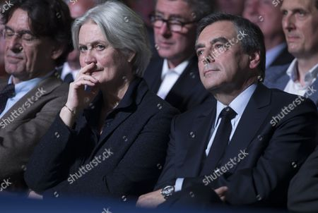 Editorial photo of French presidential candidate Francois Fillon campaigns in Paris, France - 09 Apr 2017
