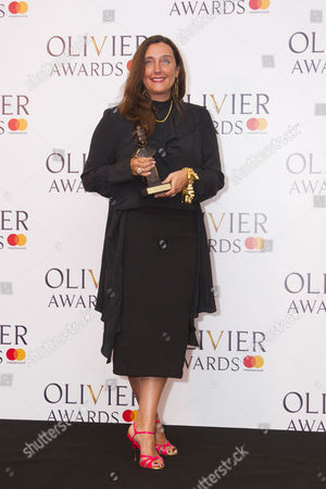 Editorial image of '2017 Laurence Olivier Awards', Press Room, London, UK - 09 Apr 2017