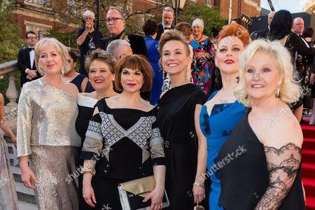 Editorial image of The Olivier Awards, Arrivals, Royal Albert Hall, London, UK - 09 Apr 2017