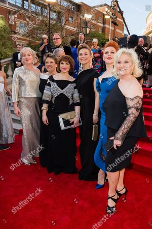 Claire Moore, Claire Machin, Debbie Chazen, Joanna Riding, Sophie-Louise Dann and Michele Dotrice
