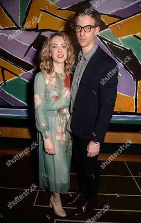 Stock Image of Elisabeth Hoppe and James Northcote