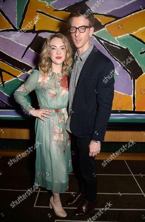 Elisabeth Hoppe and James Northcote