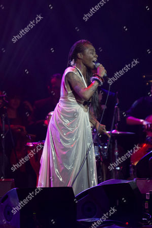 Editorial photo of Concha Buika in concert at Teatro Metropolitan, Mexico City, Mexico - 09 Apr 2017