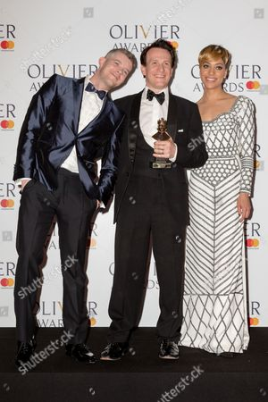 Jamie Parker, Russell Tovey and Cush Jumbo