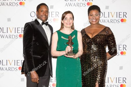 Stock Image of Matt Henry, Rebecca Trehearn and Brenda Edwards