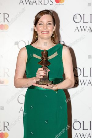 Editorial photo of The Olivier Awards, Press Room, London, UK - 09 Apr 2017