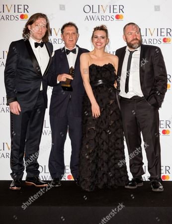 Simon Stone, David Lan, Billie Piper and Brendan Cowell