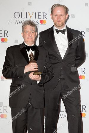 Editorial picture of The Olivier Awards, Press Room, London, UK - 09 Apr 2017