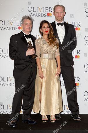 Bob Holland and Phelim McDermott with Preeya Kalidas