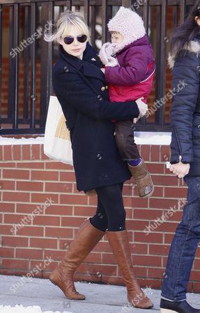 Michelle Williams and daughter Matilda