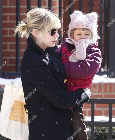 Editorial photo of Michelle Williams and daughter Matilda in Brooklyn, New York, America - 04 Mar 2009