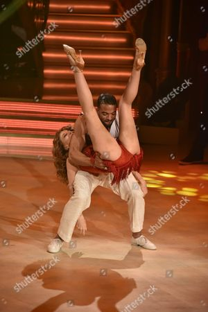 Editorial picture of 'Dancing with the Stars' TV show, Rome, Italy - 08 Apr 2017