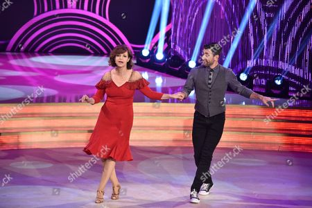 Editorial photo of 'Dancing with the Stars' TV show, Rome, Italy - 08 Apr 2017