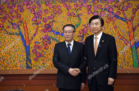 Yun Byung-Se and Wu Dawei