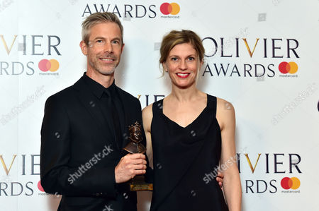 Editorial picture of Winners Room for The Olivier Awards, London, UK - 09 Apr 2017