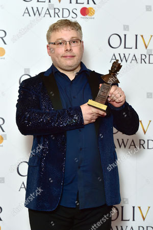 Editorial image of Winners Room for The Olivier Awards, London, UK - 09 Apr 2017