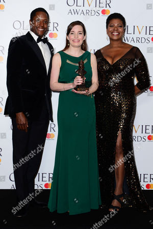 Stock Picture of Rebecca Trehearn, Matt Henry, Brenda Edwards