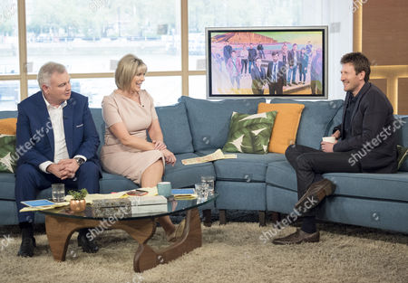 Eamonn Holmes and Ruth Langsford with Mark Bazeley