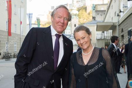 Herbert Kloiber and wife Ursula