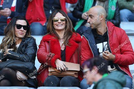 middle Nagore Aranburu wife of Xabi Alonso #14 (FC Bayern Munich)