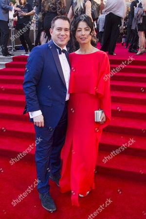 Editorial photo of '2017 Laurence Olivier Awards' awards, Red Carpet, London, UK - 09 Apr 2017