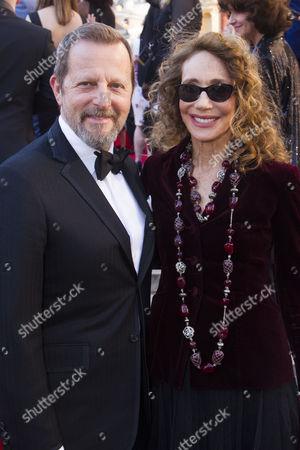 Rob Ashford and Marisa Berenson