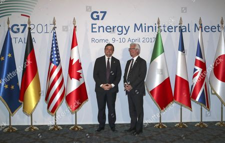Editorial image of Meeting of G7 Energy Ministers, Rome, Italy - 10 Apr 2017
