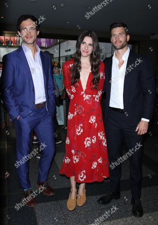 Rob Heaps, Marianne Rendo and Parker Young