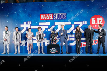 Editorial image of 'Guardians of the Galaxy Vol. 2' film premiere, Tokyo, Japan - 10 Apr 2017