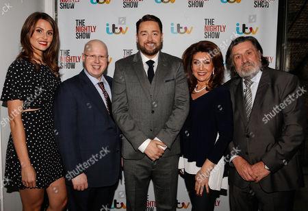 Ellie Taylor, Matt Lucas, Jason Manford, Jane McDonald and Ricky Tomlinson