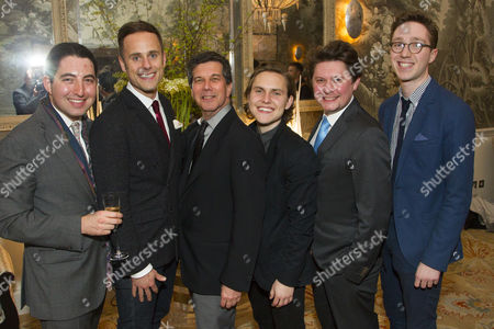 Alexander Lass (Director), Jay Taylor (Robert), Bill Rosenfield (Author), Oliver Coopersmith (Alan), Oli Sones (Producer) and Joe Winters (Assistant Director)