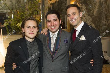 Oliver Coopersmith (Alan), Alexander Lass (Director) and Jay Taylor (Robert)