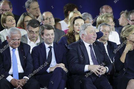 Jean-Pierre Raffarin, Francois Baroin, Gerard Larcher, Jean-Francois Lamour, Valerie Boyer, Eric Woerth