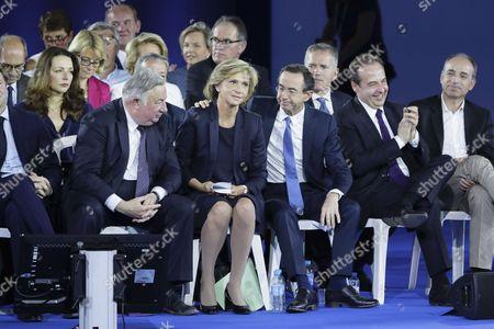 Valerie Pecresse, Bruno Retailleau, Gerard Larcher, Jean-Christophe Lagarde, Jean-Francois Cope, Francois Zocchetto, Valerie Boyer