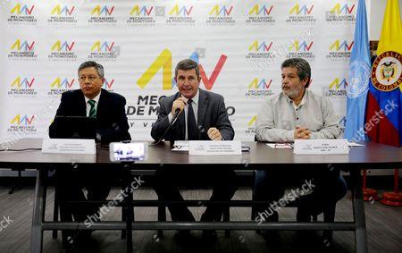 Orlando Romero Reyes, Javier Perez Aquino and Marco Leon Calarca