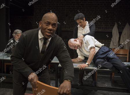 Burt Caesar as Grand,, Sara Powell as Dr Rieux, Joe Alessi as Mr Cottard,