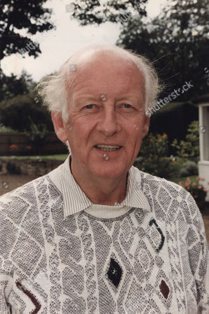 Frank Bough Television / Radio Presenter pictured outside his Dornay Reach home