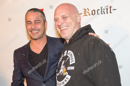 Taylor Kinney and Randy Flagler