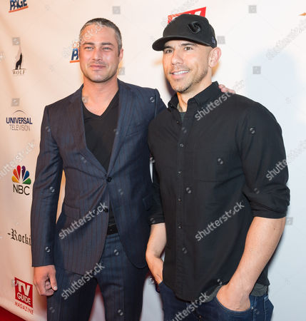 Taylor Kinney and Rockit Ranch owner Billy Dec