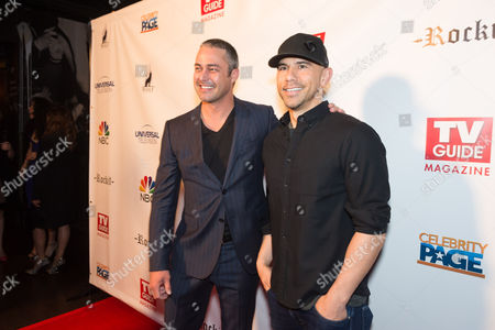 Stock Picture of Taylor Kinney and Rockit Ranch owner Billy Dec
