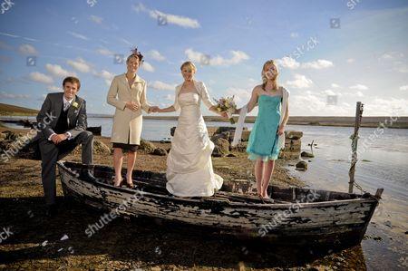 Nick Dempsey, Sarah Webb, Sarah Ayton and Pippa Wilson