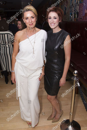 Claire Sweeney and Connie Fisher