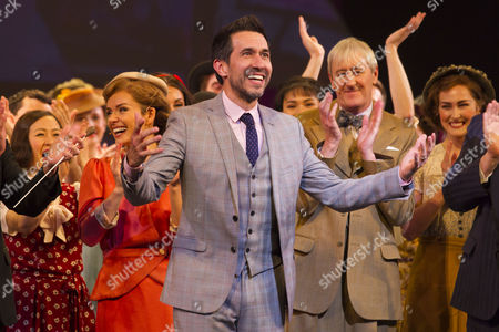 Stock Image of Josh Rhodes (Choreographer) during the curtain call
