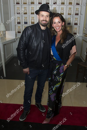 Stock Picture of Alfie Boe (Billy Bigelow) and Sarah Boe