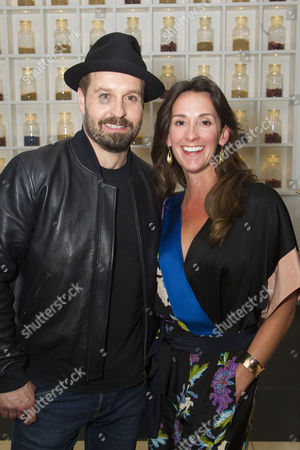 Stock Photo of Alfie Boe (Billy Bigelow) and Sarah Boe