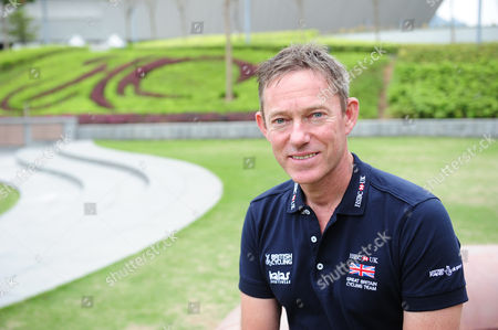 Stephen Park Great Britain Cycling Team GBCT Performance Director pictured outside the Hong Kong Velodrome