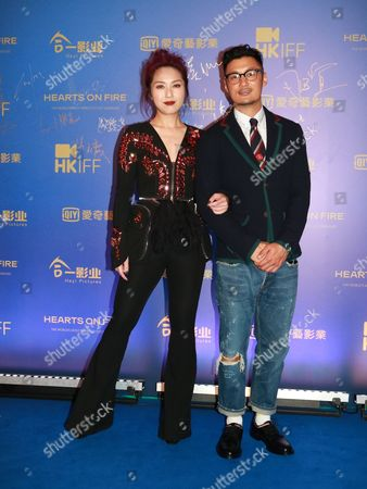 Miriam Yeung and Shawn Yue