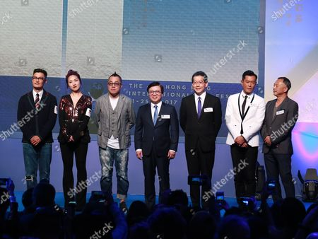 Stock Picture of Miriam Yeung and Shawn Yue